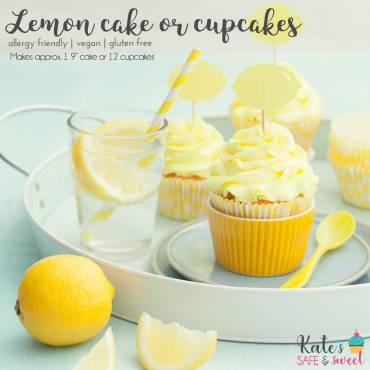 Lemon Cake or Cupcakes