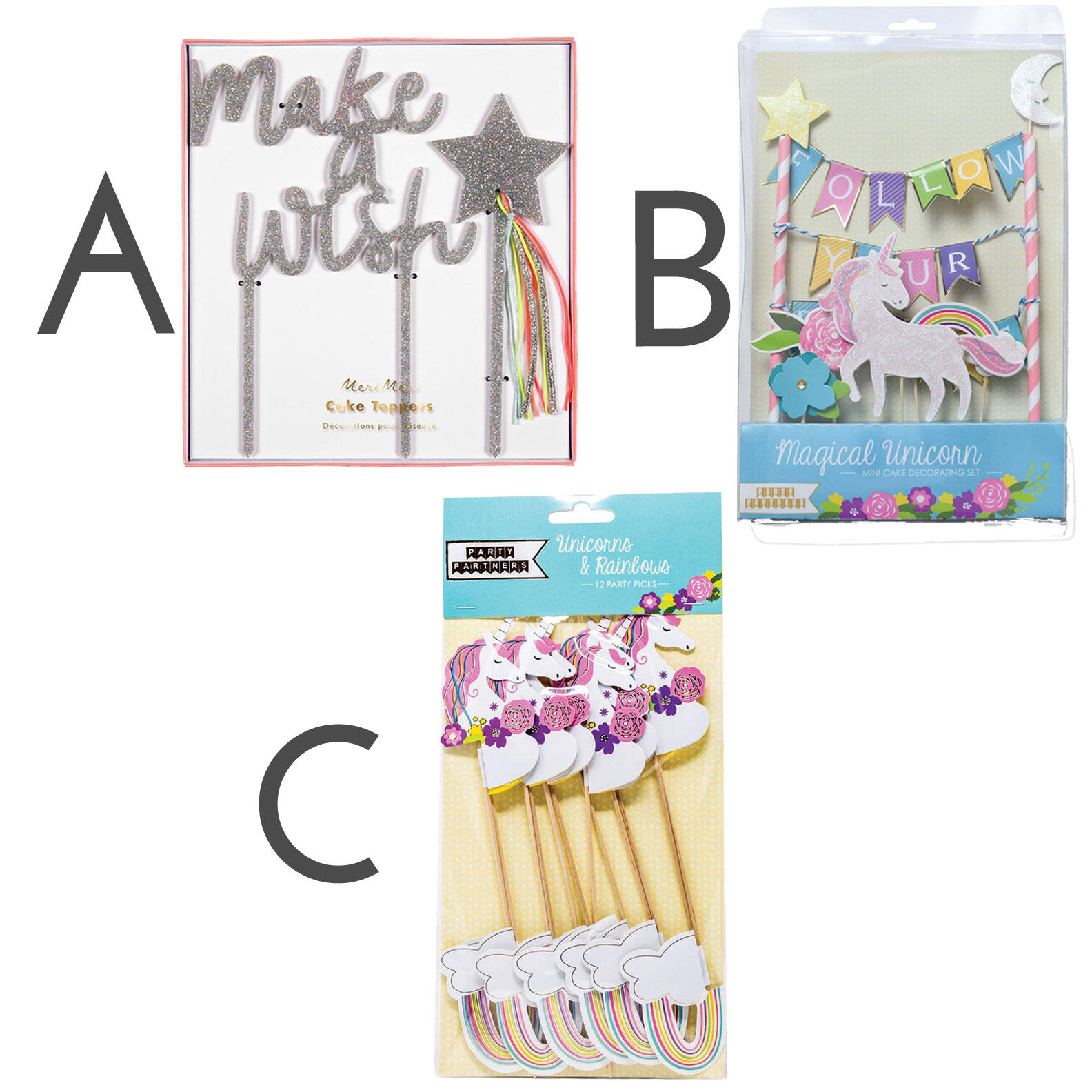 Kate's-Safe-&-Sweet--Unicorn-and-Rainbows-Baking-Box---Topper-Options