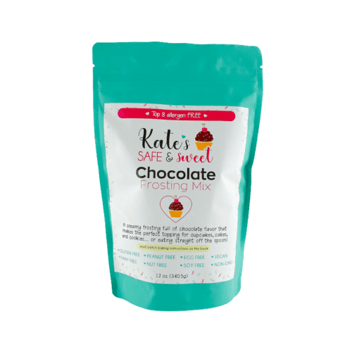 Kate's-Safe-and-Sweet---Chocolate-Frosting-Mix-Front