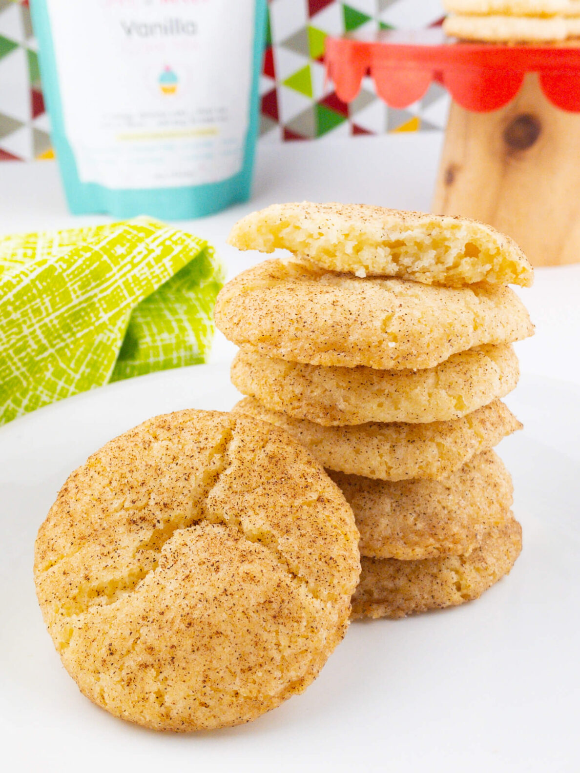 Kate's Safe and Sweet - Cinnamon Sugar Cookies