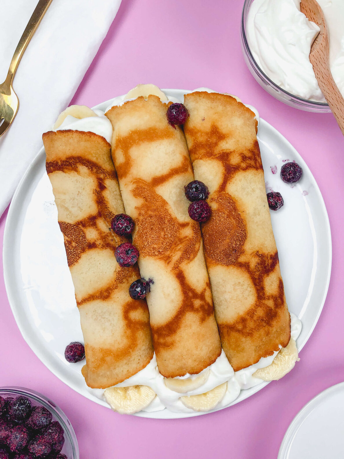Kates's Safe and Sweet- crepes-Pink