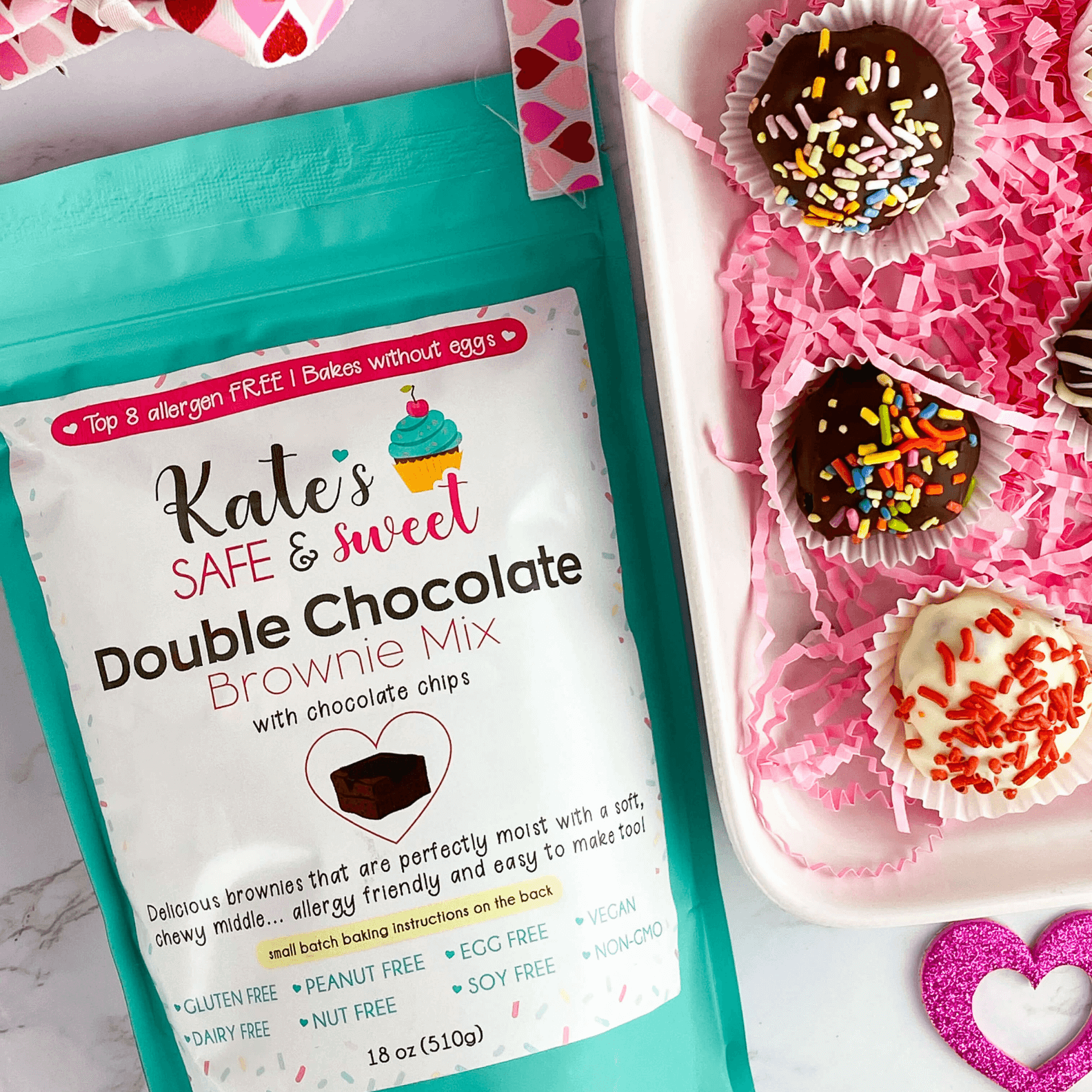 Kate's Safe and Sweet - Brownie Truffle with Mix