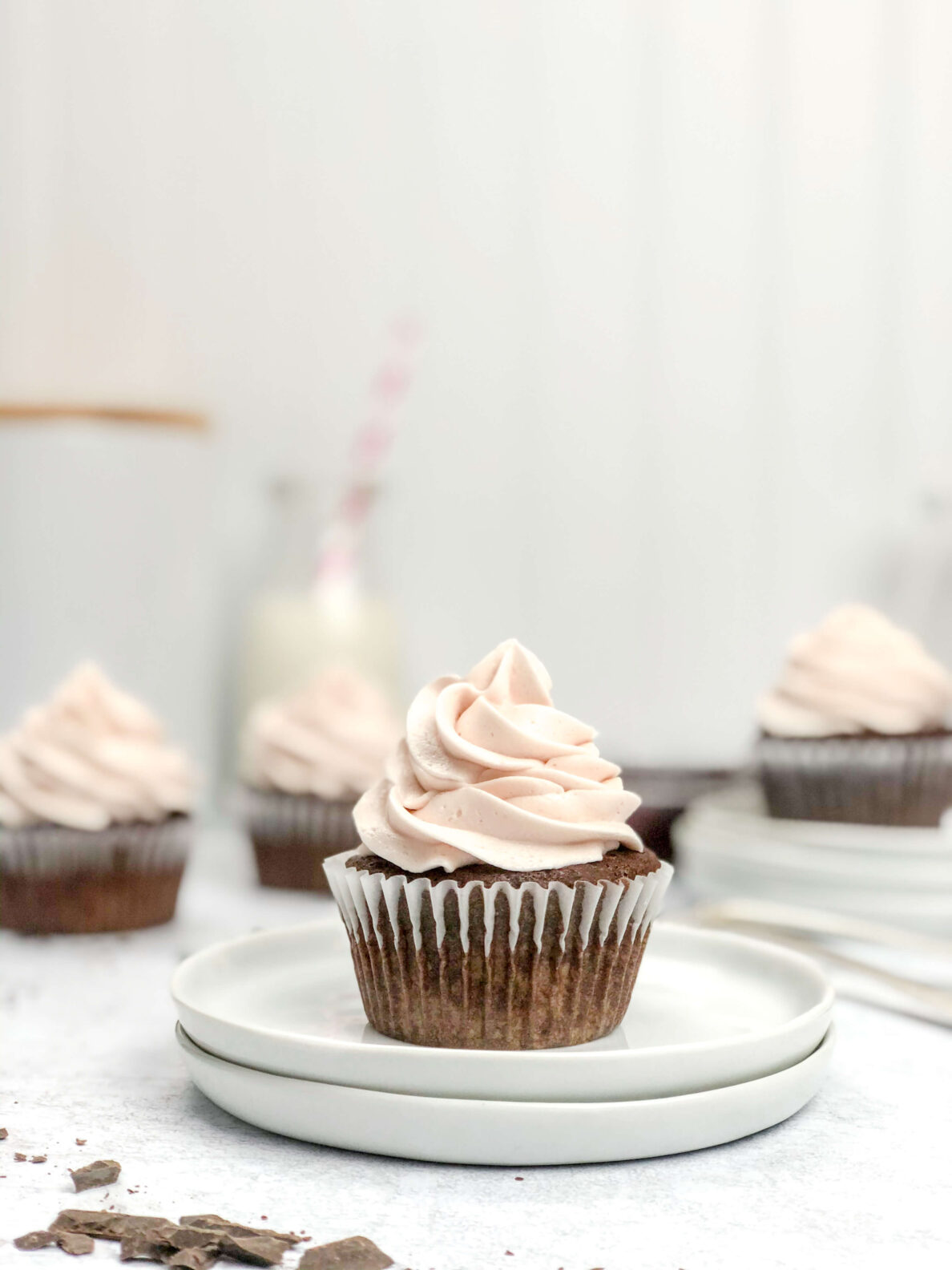 Kate's Safe and Sweet - Cherry Cupcakes 10
