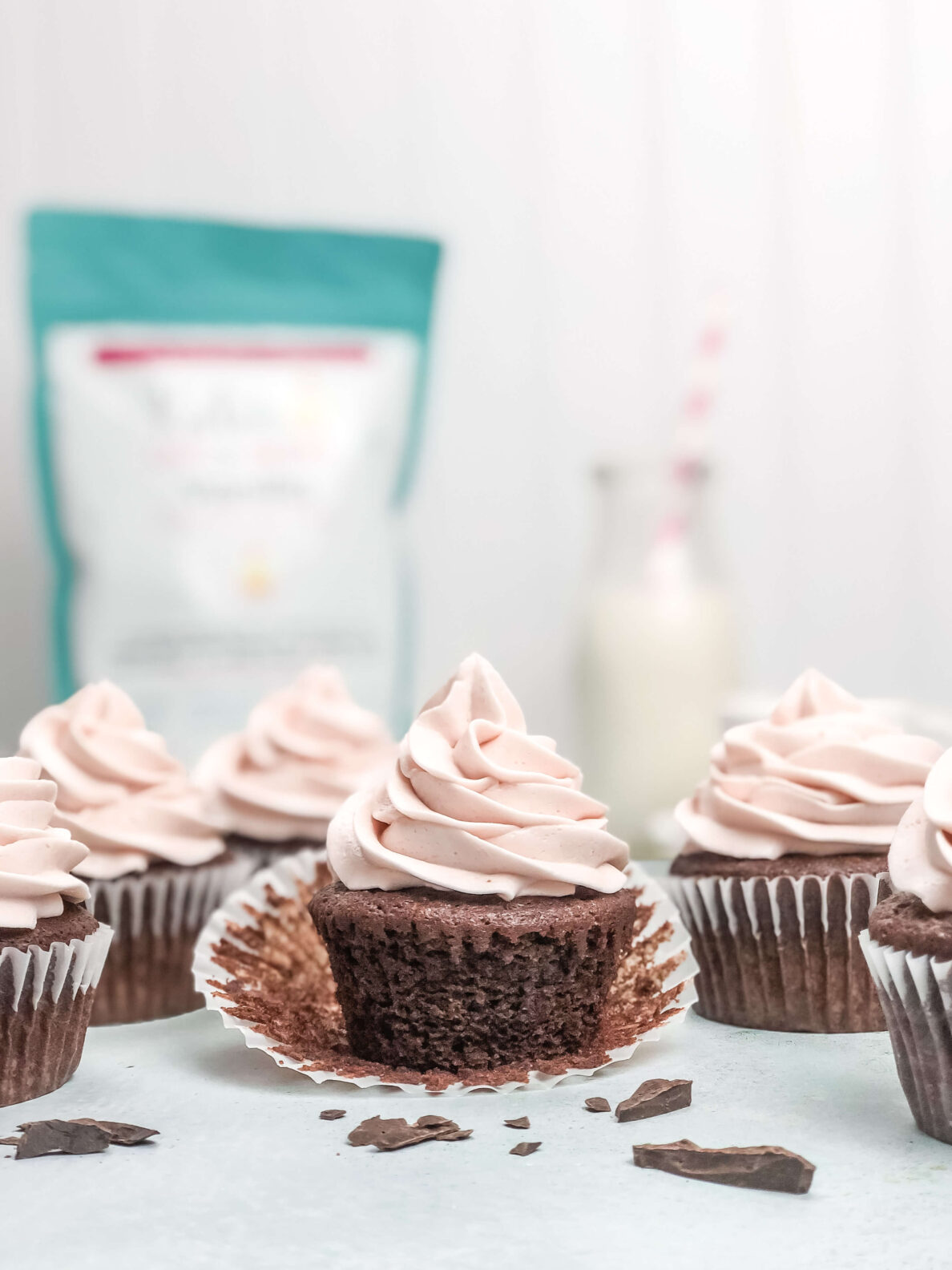 Kate's Safe and Sweet - Cherry Cupcakes 6