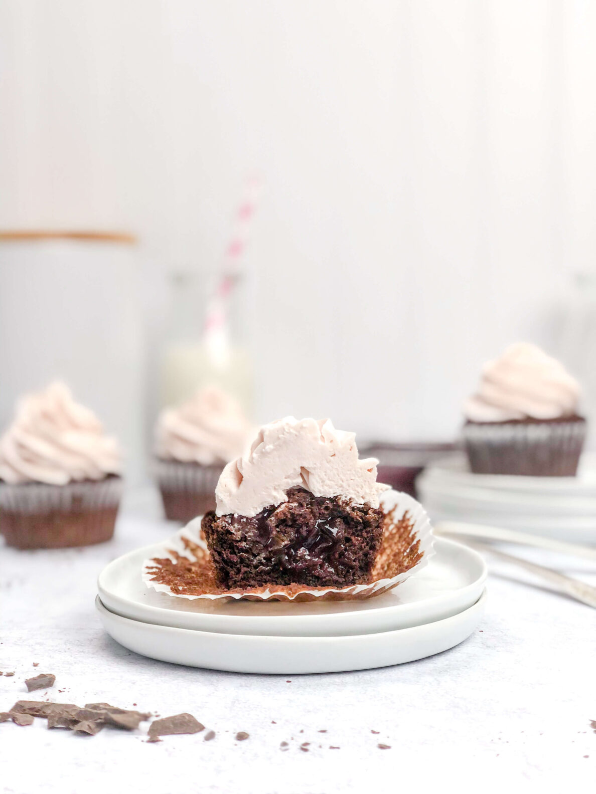 Kate's Safe and Sweet - Cherry Cupcakes 8