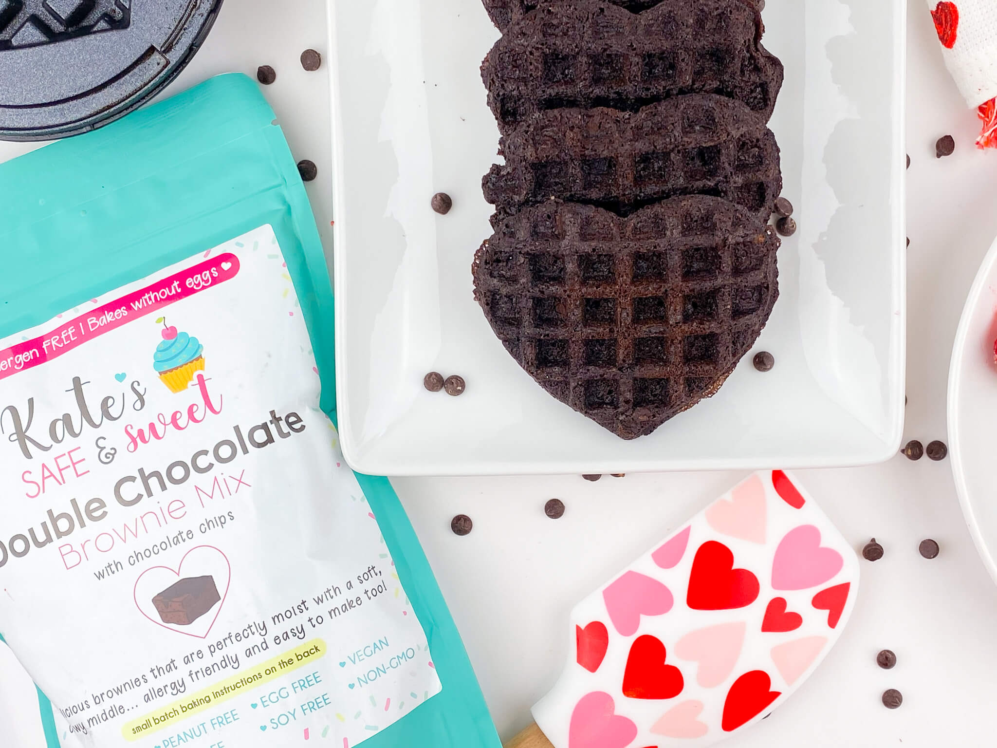 Kate's Safe & Sweet - Brownie Waffles Mix and Maker