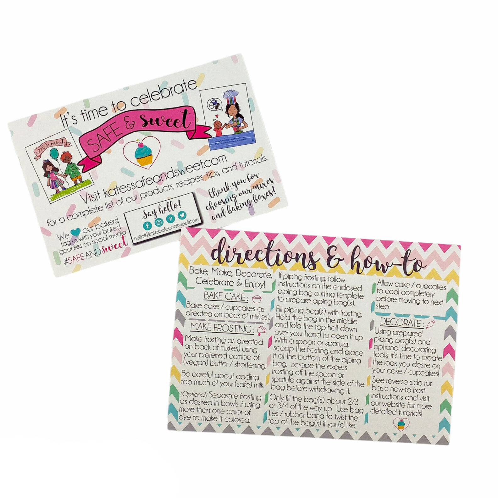 Kate's-Safe-and-Sweet---Directions-&-How-to-Cards
