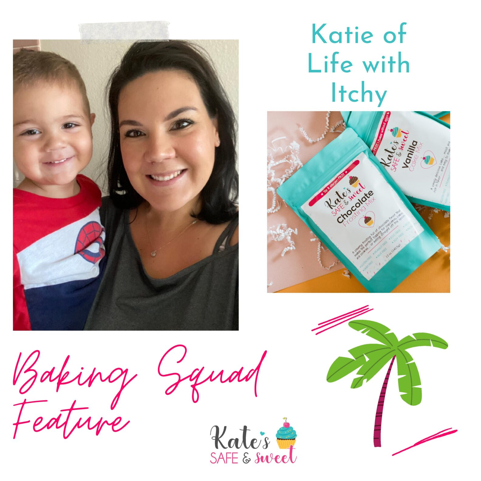 Kate's Safe and Sweet - Baking Squad Feature- Katie Greene