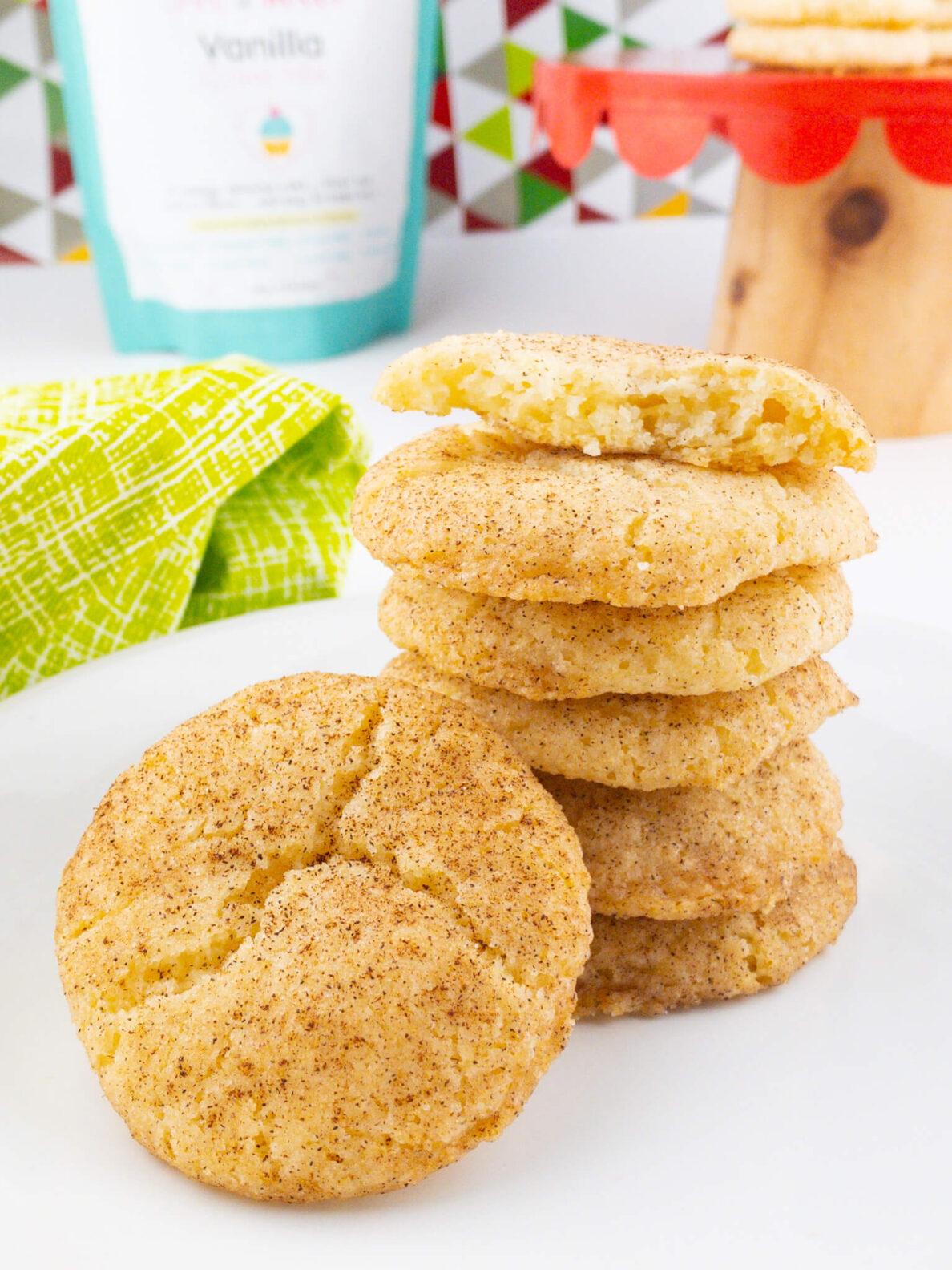 Kate's Safe and Sweet - Cinnamon Sugar Cookies