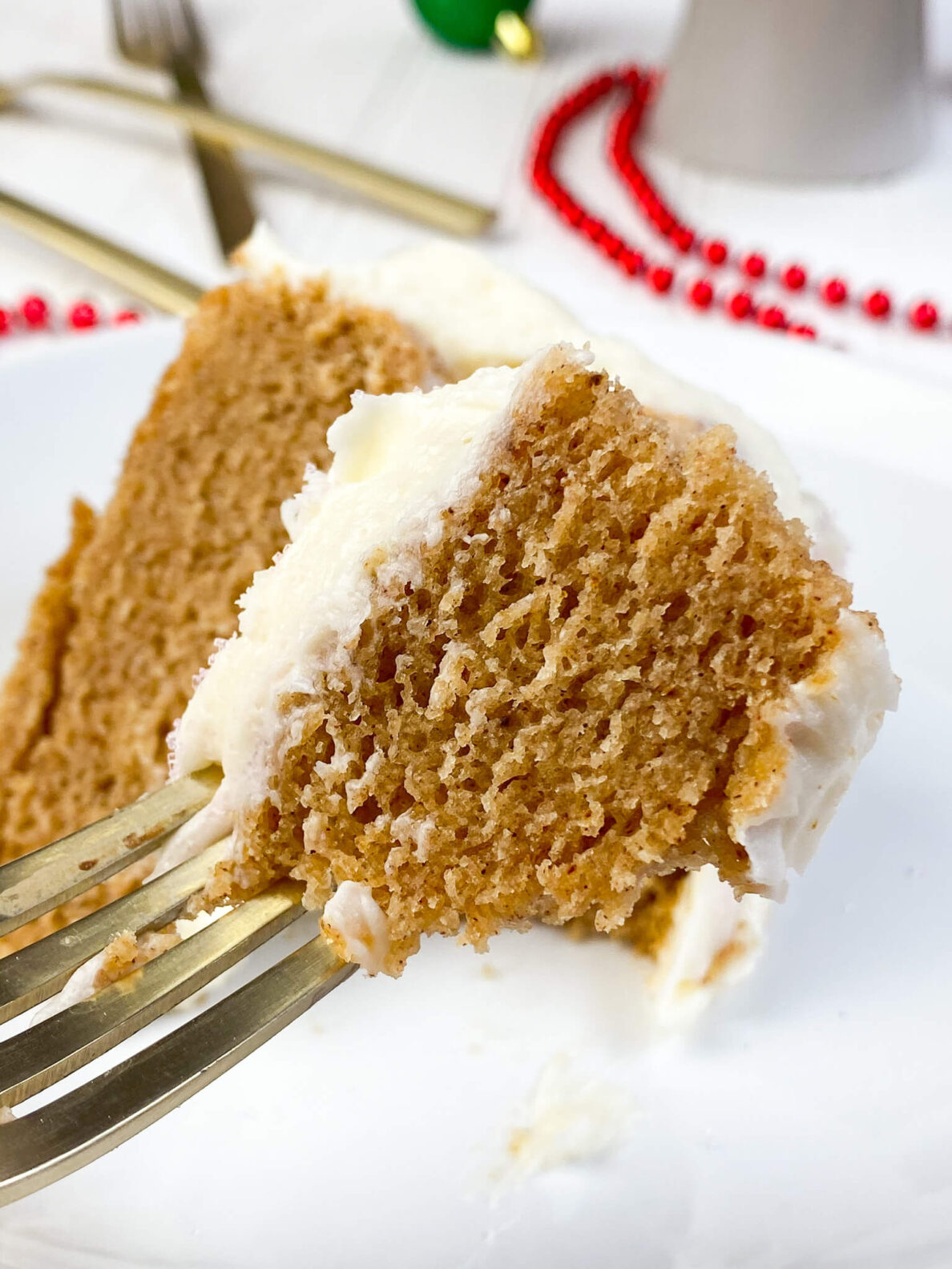 Kate's Safe and Sweet - Gingerbread Cake Piece
