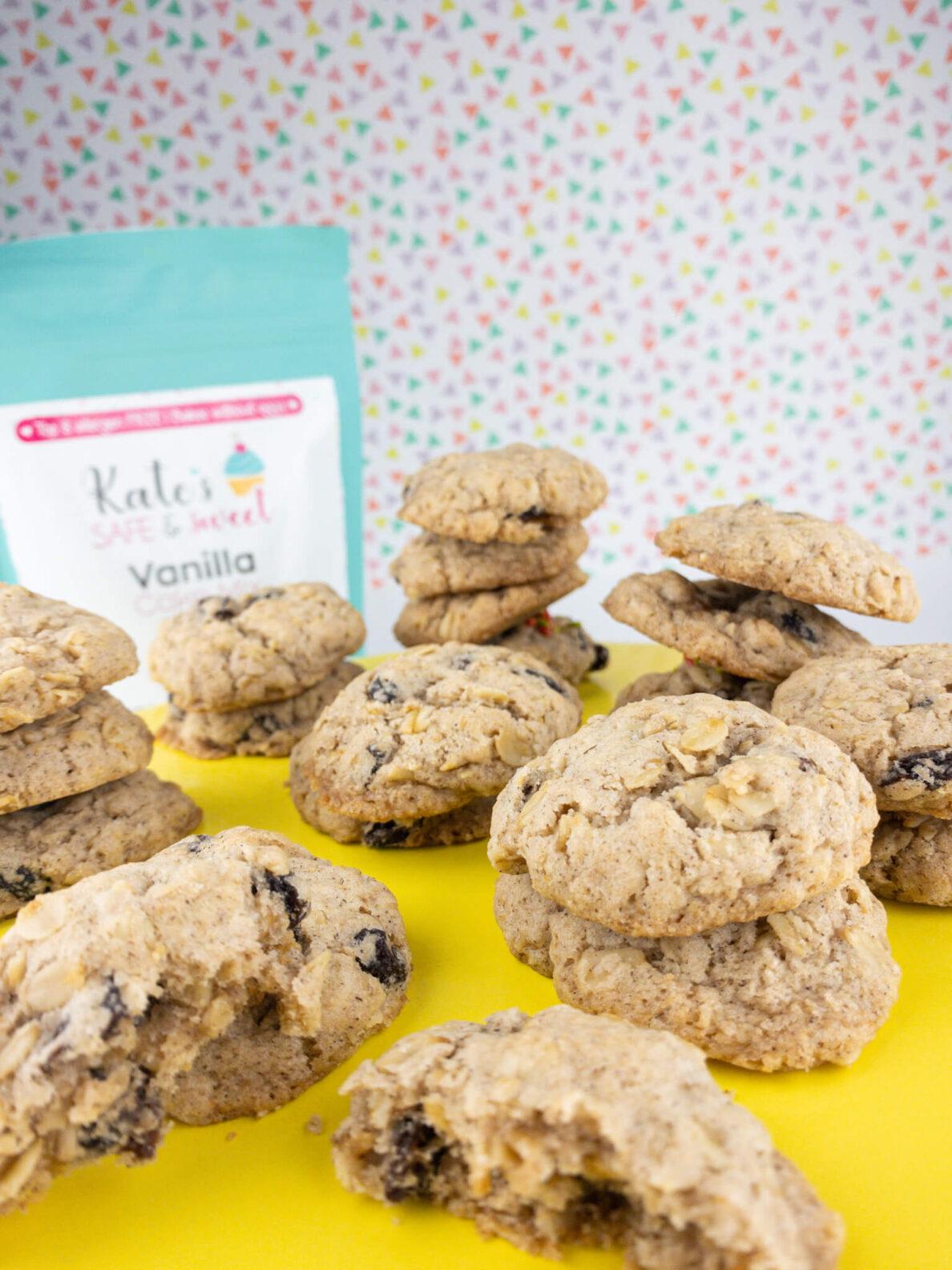 Kate's Safe and Sweet - Oatmeal Raisin Cookies