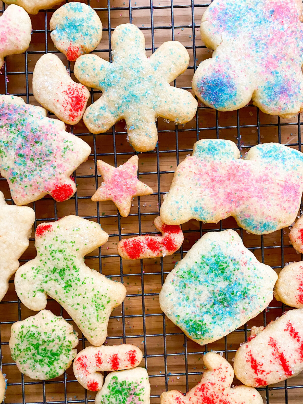 Kate's Safe and Sweet - Rolled Sugar Cookies Out of Oven