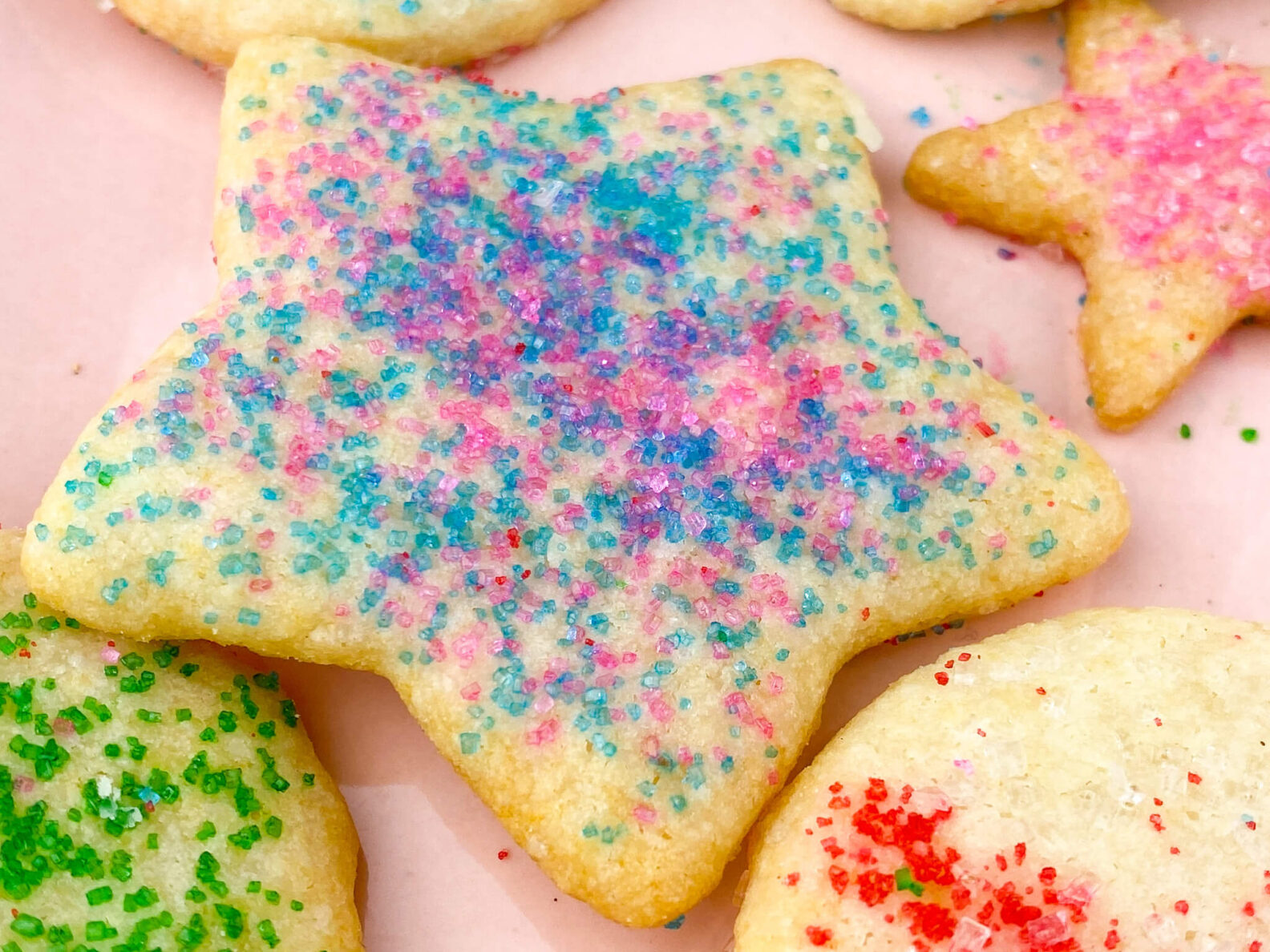 Kate's Safe and Sweet - Rolled Sugar Cookies Star