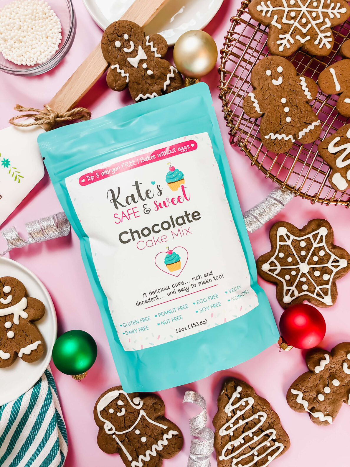 Kate's Safe and Sweet - chocolate gingerbread 3