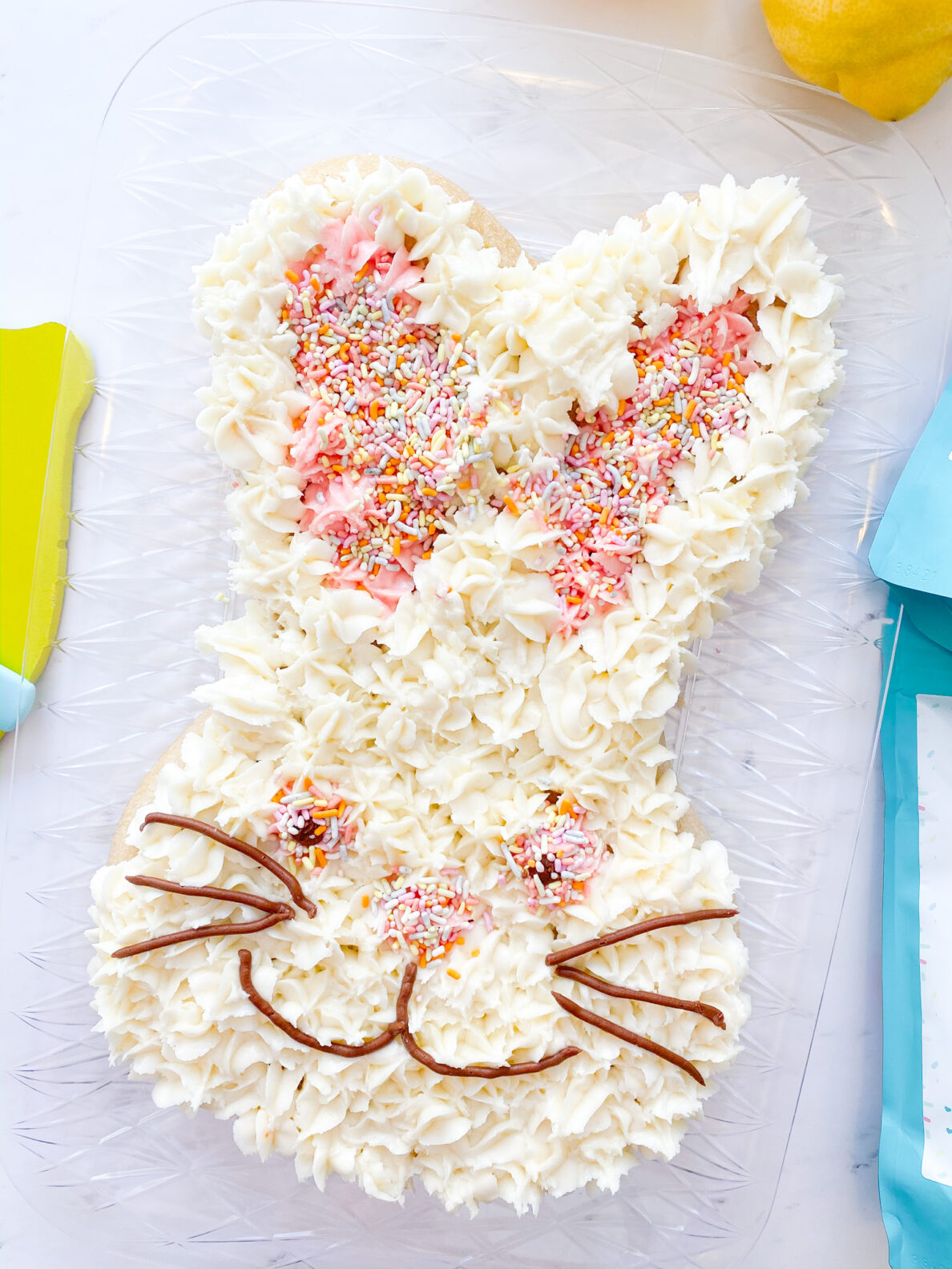 Kate's Safe & Sweet - Easter bunny cake