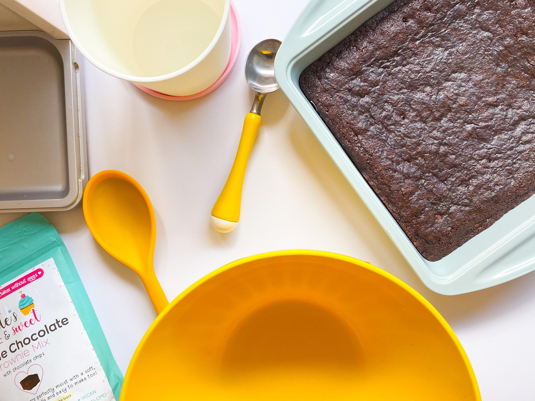 Kate's Safe & Sweet - Brownie Ice Cream Tools