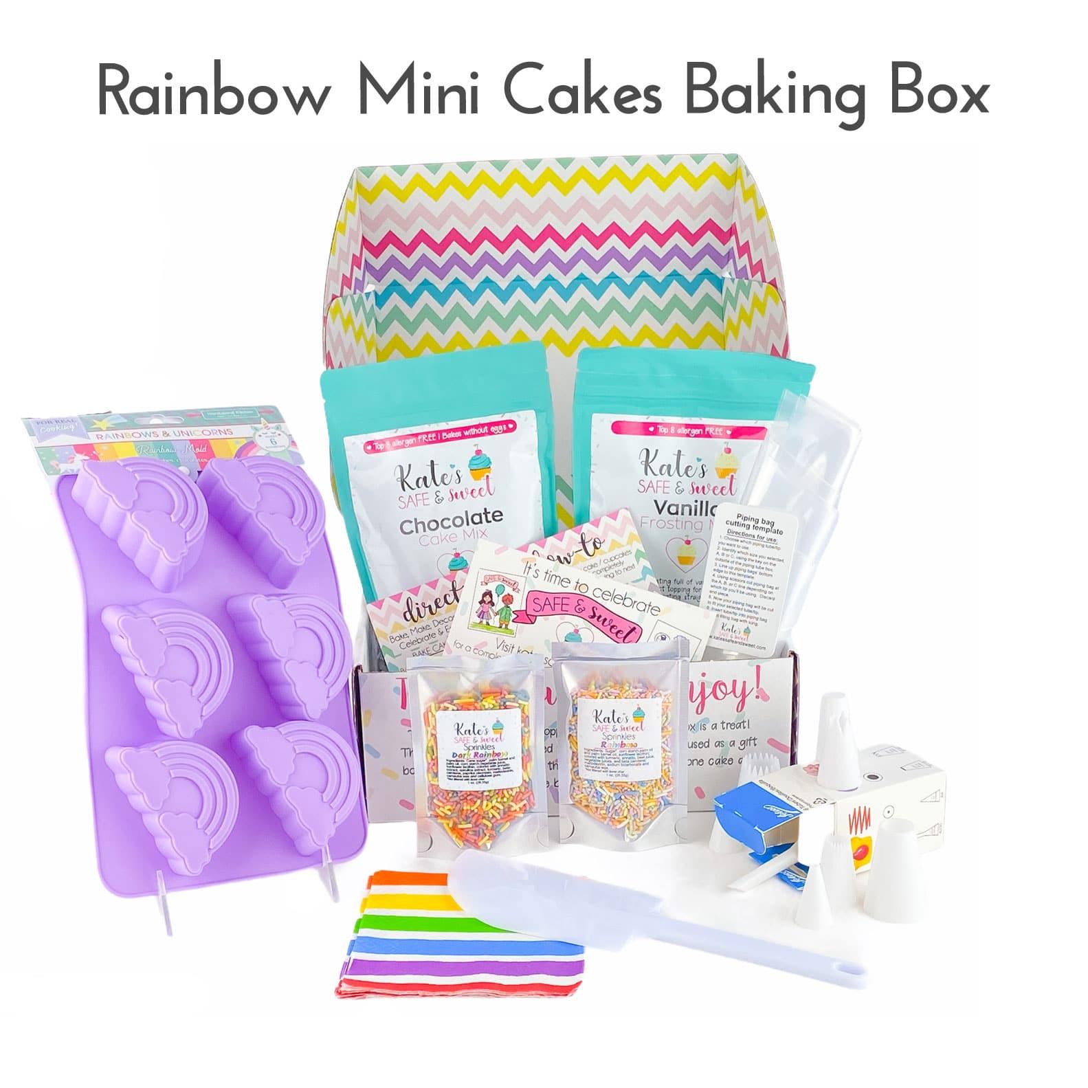 Kate's-Safe-&-Sweet---Rainbow-Mini-Cakes-Baking-Box