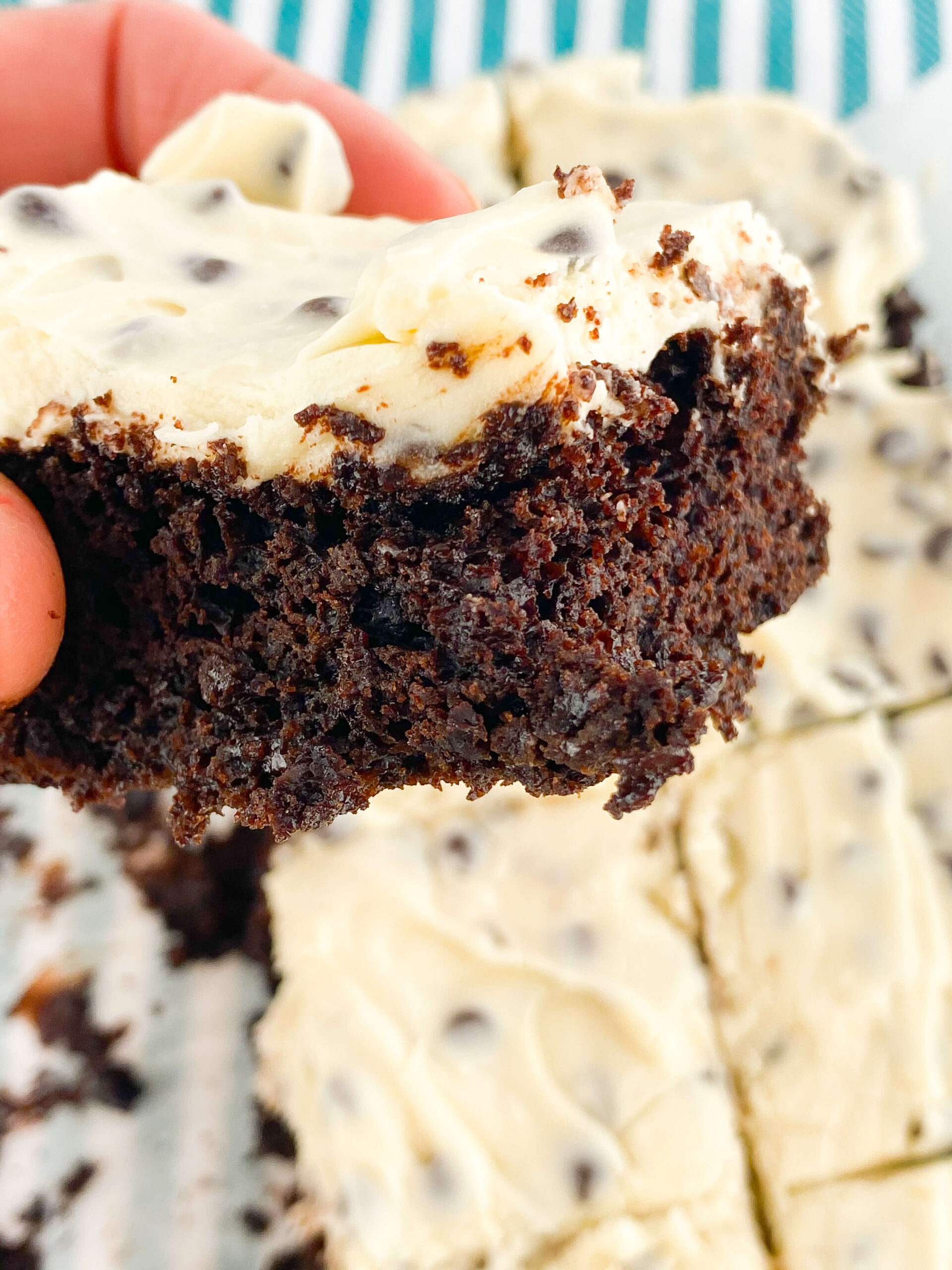 Kate's Safe & Sweet - Cookie Dough Brownies Bite