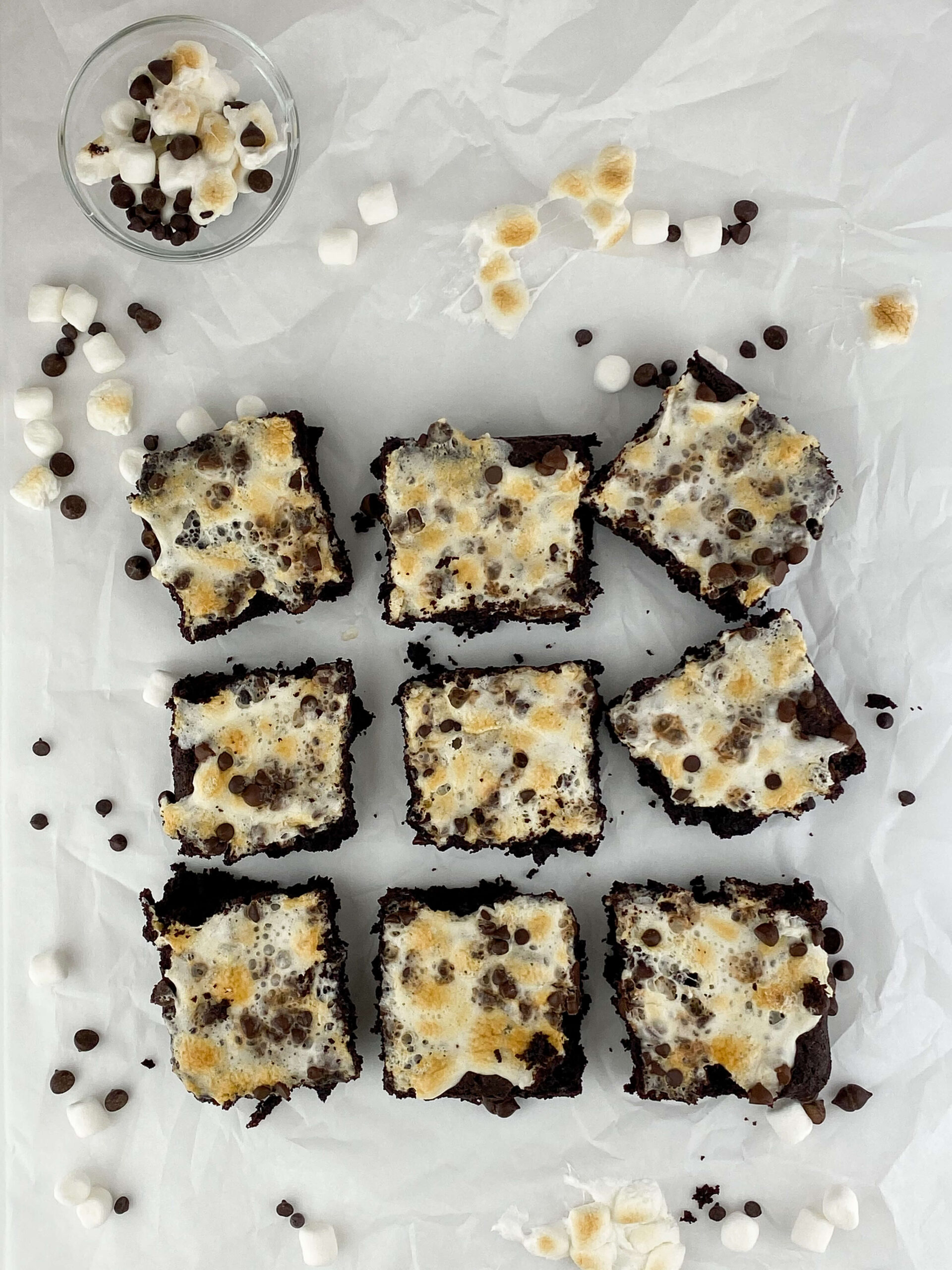 Kate's Safe & Sweet - Rocky Road Brownies Tray